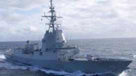 La fragata Méndez Núñez recala en la base estadounidense de Norfolk