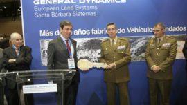 El Ejército de Tierra recibe el nuevo vehículo blindado Pizarro (fase II) en Homsec