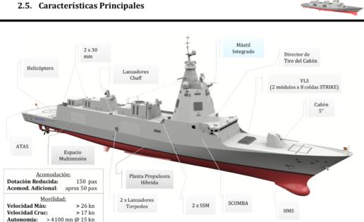 Nueva fragata F-110: Navantia, pendiente de su primera orden de ejecución a finales de año