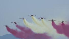 El Ejército del Aire estudia cancelar las exhibiciones de la Patrulla Águila
