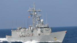 La fragata Navarra liderará la operación de la OTAN en el Mediterráneo