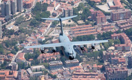 El A400M, el Eurofighter o el F-18 del Ejército del Aire, a vista de pájaro en Guadalajara