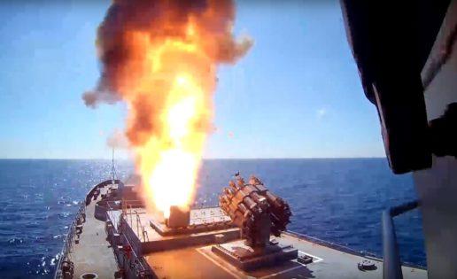 Rusia ataca al Daesh con misiles de crucero Kalibr desde una fragata y un submarino en el Mediterráneo