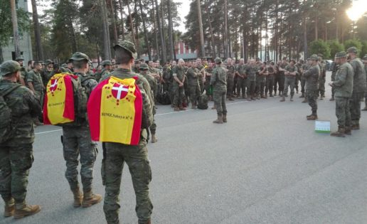 Llega el contingente español a Letonia… y España rebasa los 3.000 efectivos en el exterior