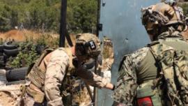 La FGNE española, con los Navy Seals y los Marines en Cartagena