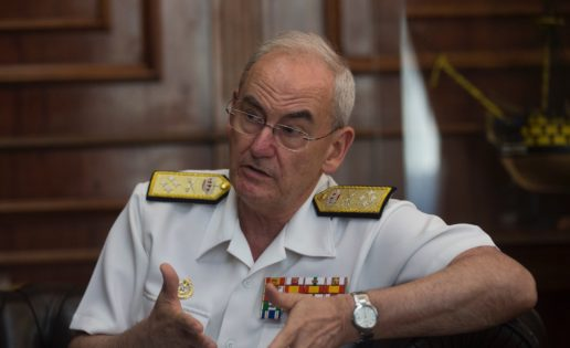 Entrevista al Ajema (I): «Necesitamos las nuevas fragatas F-110 como muy tarde en 2023 ó 2024»