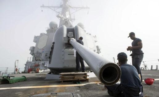 De Siria al Ártico: las 20.000 millas de uno de los destructores de EE.UU. en Rota
