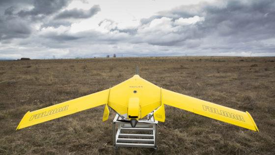 Defensa adquiere un UAV Fulmar de Thales España para la Infantería de Marina