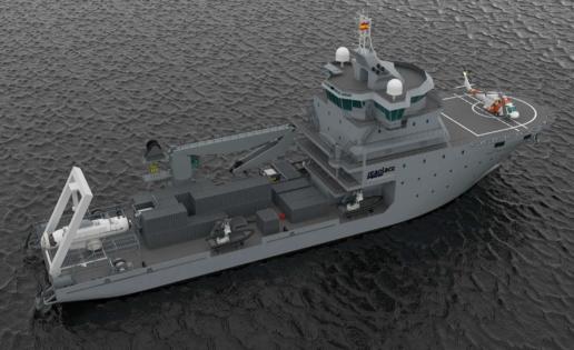"""""""Seaplace"""" diseña ya el próximo buque rescatador de submarinos de la Armada Española"""
