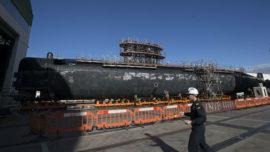 El submarino S-71 «Galerna» inicia su gran carena