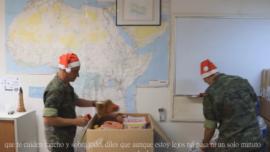 «Querida familia…»: el emotivo vídeo de Feliz Navidad del Ministerio de Defensa