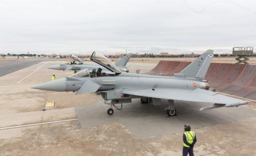 El Ejército del Aire recibe dos nuevos Eurofighter en su última versión mejorada
