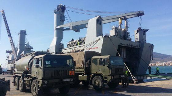 El buque de transporte «El Camino Español» causa baja en la Armada
