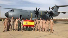 Letonia y Senegal: dos nuevos hitos del A400M del Ejército del Aire en una semana