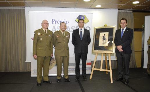 Primer Premio Asfaspro al general (R) Emilio Fernández Maldonado