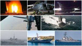 Ataque a Siria: ¿desde dónde se lanzaron los 105 misiles en dos minutos?