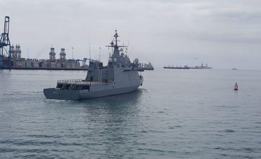 El BAM Meteoro y 82 marinos españoles, rumbo a la operación Atalanta