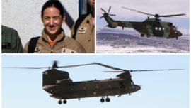 Una comandante estará al frente de la unidad de tres Chinook y dos Cougar en Irak