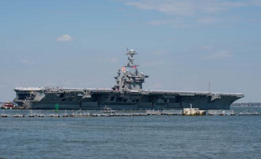 El portaaviones Harry S. Truman llegará en dos semanas al Mediterráneo