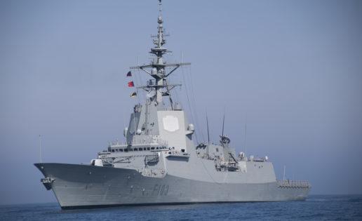 La fragata Blas de Lezo zarpa para escoltar al portaaviones Charles de Gaulle