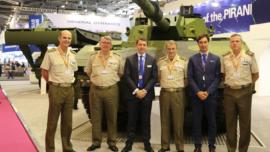 Santa Bárbara Sistemas exhibe sus nuevos blindados en París