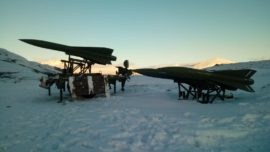 Noruega (VI): artilleros antiaéreos de San Roque a -17ºC