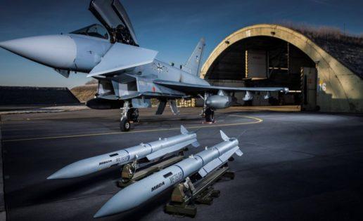 Misil Meteor con la modernización del Eurofighter