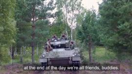 El blindado Pizarro: protagonista en Letonia con la OTAN