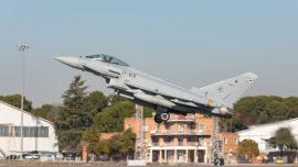 Airbus entrega al Ejército el primer Eurofighter Tranche 1 actualizado