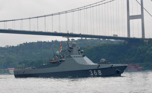 Un buque militar de Rusia vuelve a hacer escala en Ceuta