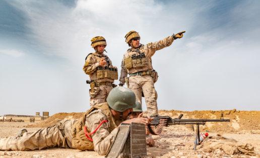 Suspensión de las operaciones de adiestramiento en Irak