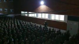 Vídeo: la emocionante arenga del sargento a los nuevos soldados españoles