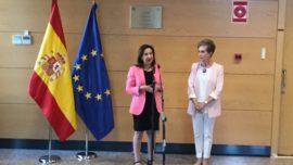 Robles visita el CNI: «No hay situación de interinidad»