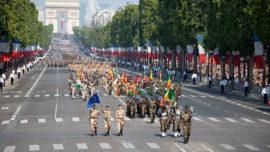 Militares españoles desfilarán el 14 de Julio en París