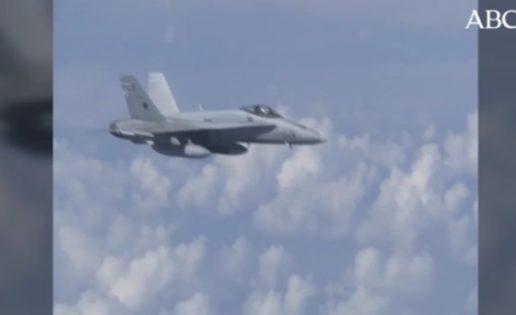 La OTAN aclara el porqué de la maniobra del F-18 español en el Báltico