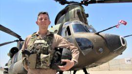 «Las altas temperaturas son el principal hándicap para volar en Irak»