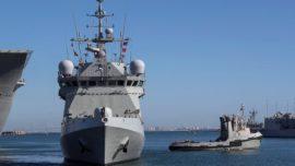 El BAM Audaz prosigue con su misión incierta en el Mediterráneo