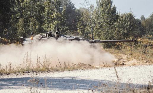 Misión en Letonia: con carros de combate a 200 kilómetros de la frontera rusa