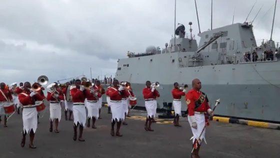 La fragata Méndez Núñez, en Oceanía: llega a Fiyi, luego a Tahití