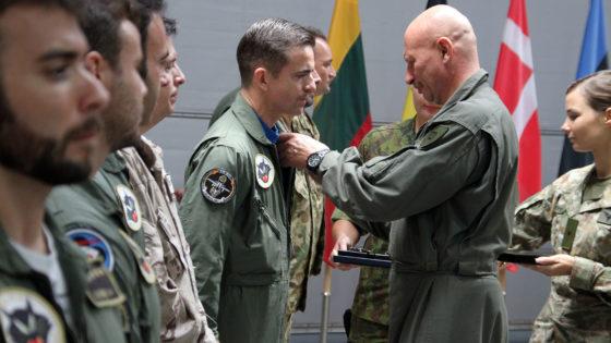 Finaliza la misión del Ejército del Aire en Lituania con 25 salidas para interceptar aviones rusos