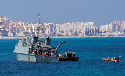 El rescate del cazaminas Turia costó 674.290 euros