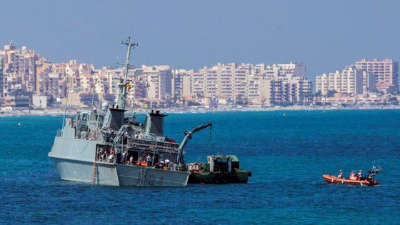 La Armada recibe el visto bueno para reparar el cazaminas Turia por 25 millones de euros