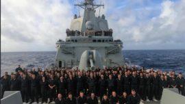 """""""Establecimos una magnífica relación con los marinos de la US Navy"""""""