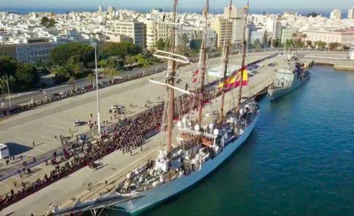 El buque Juan Sebastián de Elcano inicia su 92º Crucero de Instrucción