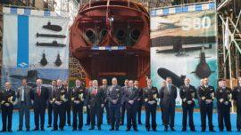 Vídeo: Navantia cierra el casco del submarino S-81 Isaac Peral
