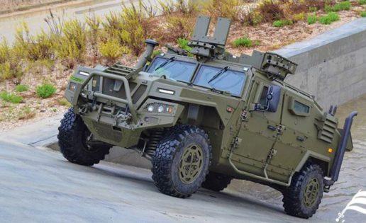 Urovesa, la empresa española que fabrica los blindados todoterreno del Ejército portugués