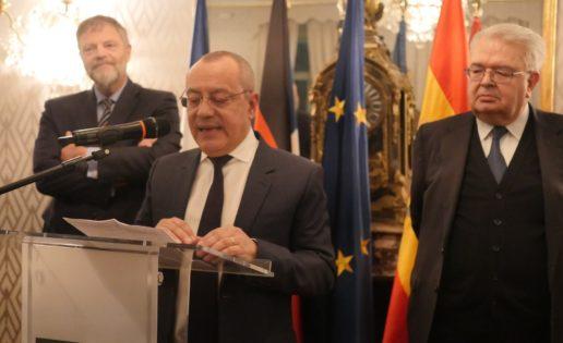 Los embajadores de Francia y Alemania apelan a una España más fuerte en Europa