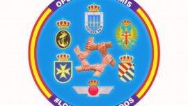 El parche militar de la Operación Balmis