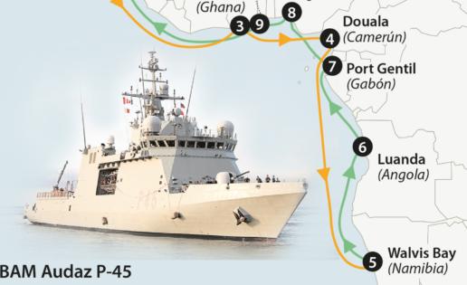 Coronavirus: dos buques de la Armada interrumpen sus misiones y vuelven a España