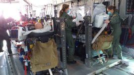 """Coronavirus: el Ejército del Aire transforma un A400M en """"avión hospital"""""""